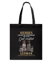 German Shorthaired Pointer Heroes Tote Bag thumbnail
