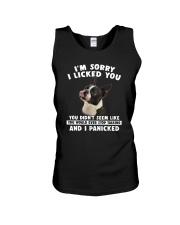 Boston Terrier Licked You Unisex Tank thumbnail