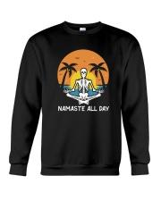 Skull Yoga Crewneck Sweatshirt thumbnail