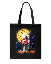 French Bulldog Dracular and Black Cat Tote Bag thumbnail
