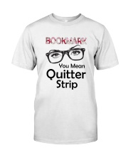Book Mark Classic T-Shirt front