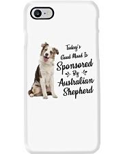 Sponsored By Australian Shepherd  Phone Case thumbnail