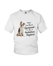 Sponsored By Australian Shepherd  Youth T-Shirt thumbnail