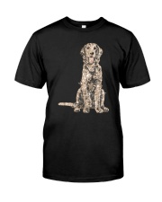 NYX - Golden Retriever Bling - 0903 Classic T-Shirt front