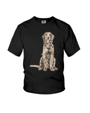 NYX - Golden Retriever Bling - 0903 Youth T-Shirt thumbnail
