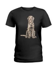 NYX - Golden Retriever Bling - 0903 Ladies T-Shirt thumbnail