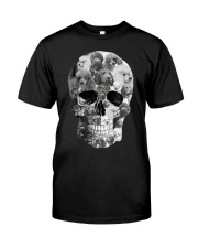 Poodle Skull Classic T-Shirt front