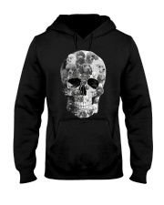 Poodle Skull Hooded Sweatshirt thumbnail