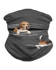 Beagle Striped T821  Neck Gaiter thumbnail