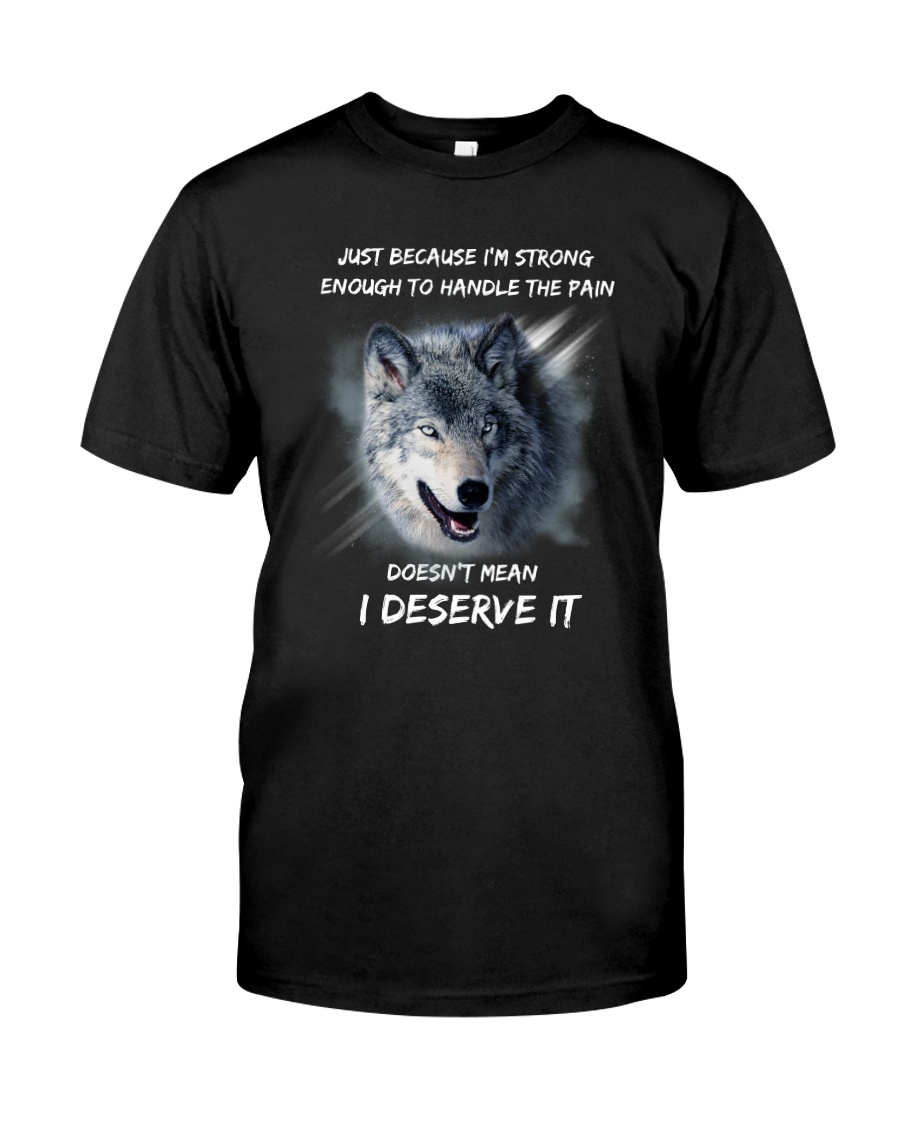 Wolf strong Classic T-Shirt