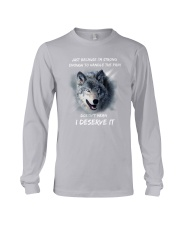 Wolf strong Long Sleeve Tee thumbnail