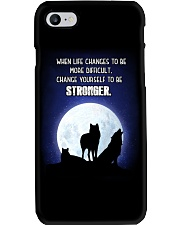 Wolf Be Stronger Phone Case thumbnail