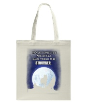 Wolf Be Stronger Tote Bag thumbnail