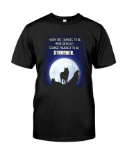 Wolf Be Stronger Classic T-Shirt thumbnail