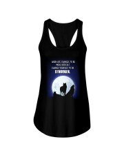 Wolf Be Stronger Ladies Flowy Tank thumbnail