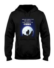 Wolf Be Stronger Hooded Sweatshirt thumbnail