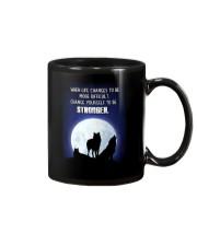 Wolf Be Stronger Mug thumbnail