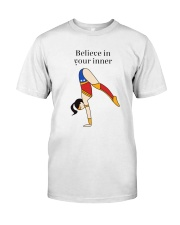 Yoga - Believe in your inner Classic T-Shirt front