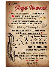 Family -To My Husband I Miss You 11x17 Poster front