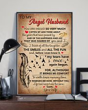 Family -To My Husband I Miss You 11x17 Poster lifestyle-poster-2