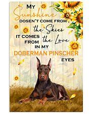 Doberman Pinscher - My sunshine 11x17 Poster front