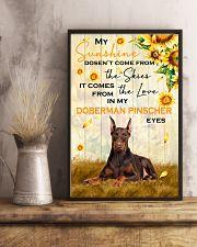 Doberman Pinscher - My sunshine 11x17 Poster lifestyle-poster-3