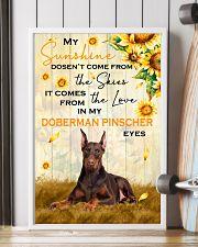 Doberman Pinscher - My sunshine 11x17 Poster lifestyle-poster-4