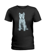 NYX - Akita Bling - 1303 Ladies T-Shirt thumbnail