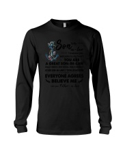 Family To my Great Son-in-law  Long Sleeve Tee thumbnail