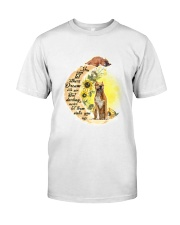 American Staffordshire Terrier Camp Mau White Classic T-Shirt front