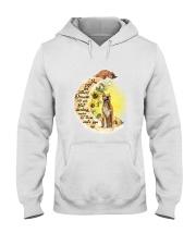 American Staffordshire Terrier Camp Mau White Hooded Sweatshirt thumbnail
