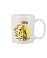 American Staffordshire Terrier Camp Mau White Mug thumbnail