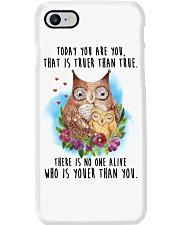 Owl Truer Than True Phone Case thumbnail