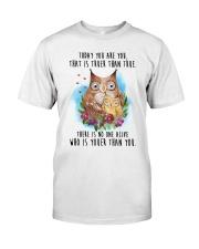 Owl Truer Than True Classic T-Shirt thumbnail