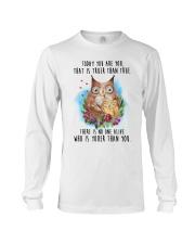 Owl Truer Than True Long Sleeve Tee thumbnail