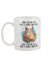 Owl Truer Than True Mug back