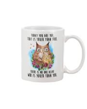 Owl Truer Than True Mug front