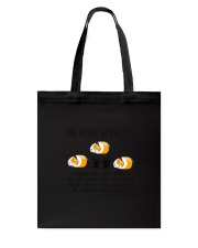 Guinea Pig High Spirit Tote Bag thumbnail