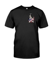 Border Collie America Bag Classic T-Shirt front