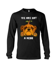 Bulldog We are not a mess Long Sleeve Tee thumbnail