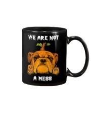 Bulldog We are not a mess Mug thumbnail