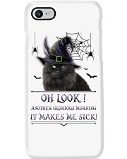 Black Cat Glorious Morning Phone Case i-phone-7-case