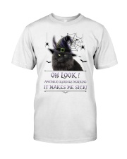 Black Cat Glorious Morning Classic T-Shirt thumbnail