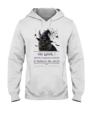 Black Cat Glorious Morning Hooded Sweatshirt thumbnail