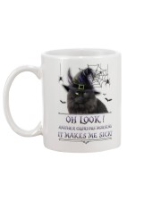 Black Cat Glorious Morning Mug back