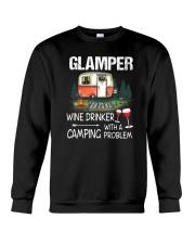 Camping Glamper Crewneck Sweatshirt thumbnail