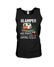 Camping Glamper Unisex Tank thumbnail