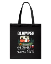 Camping Glamper Tote Bag thumbnail