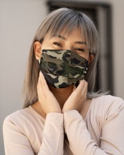 Camouflage Horse G82424 Cloth face mask aos-face-mask-lifestyle-17