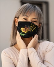 Sunflower Butterfly H28823 Cloth face mask aos-face-mask-lifestyle-17